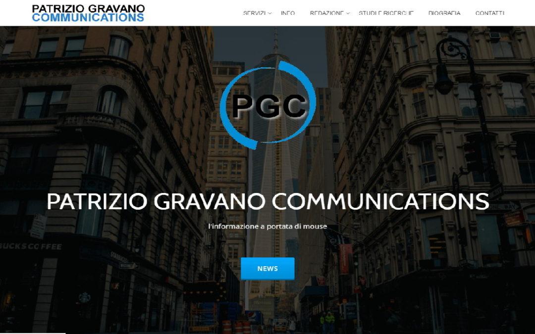 PATRIZIO GRAVANO COMMUNICATIONS