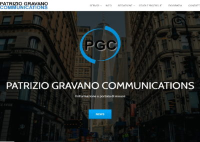 PATRIZIO GRAVANO COMMUNICATIONS